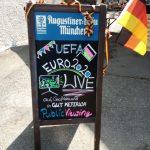 Public Viewing der UEFA EURO 2020 in Gut Keferloh